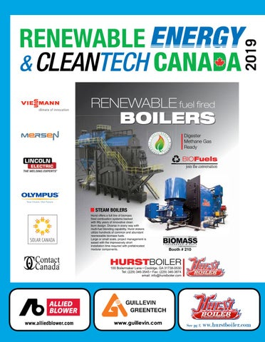 Renewable Energy & CleanTech Canada Industry Guide by