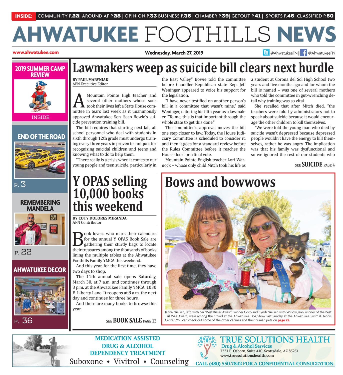 Ahwatukee Foothills News - March 27, 2019 by Times Media