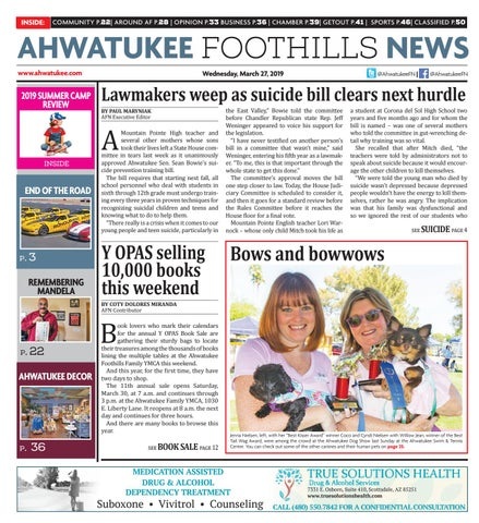 innovative design d7d5c 5781d Ahwatukee Foothills News - March 27, 2019 by Times Media Group - issuu