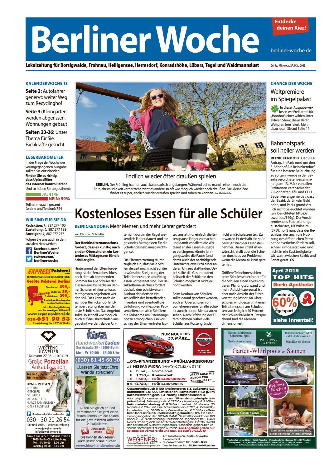 L29 Reinickendorf Nordwest by Berliner Woche issuu