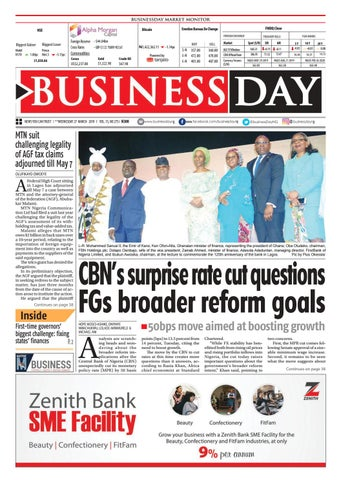 BusinessDay 27 Mar 2019 by BusinessDay - issuu