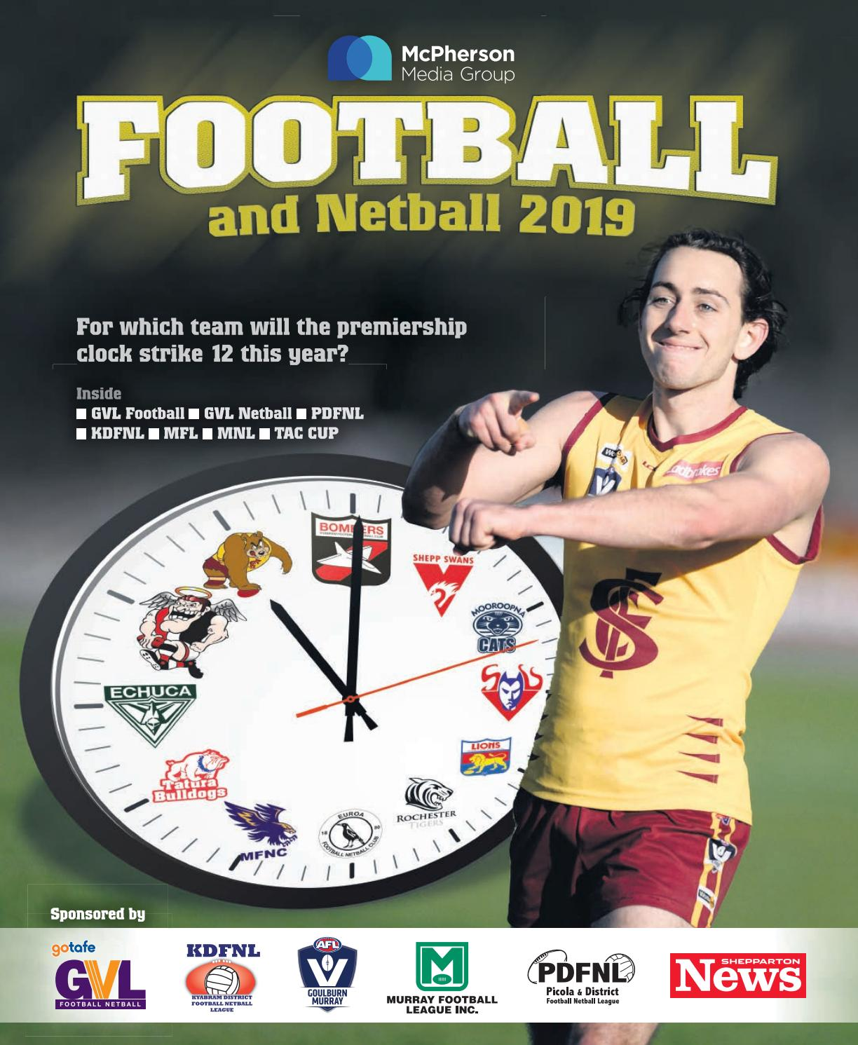 Football and Netball 2019 by McPherson Media Group - issuu