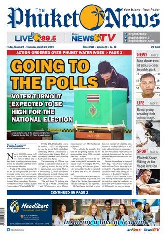 8eca8111bedf The Phuket News 22 March 2019 by The Phuket News - issuu