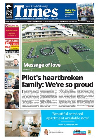 Howick and Pakuranga Times, March 28, 2019 by Times Media