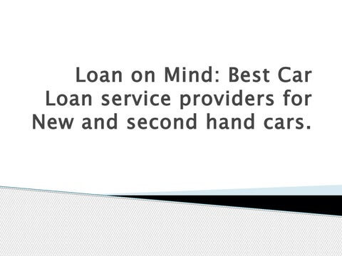 Top 20 Used Car Loan Providers in Hyderabad, Second hand cars loan