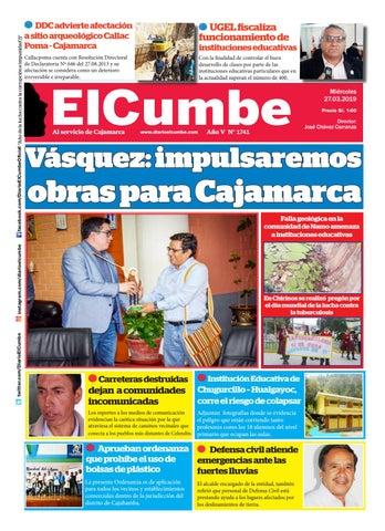 Diario El Cumbe 27 03 2019 by Diario El Cumbe - issuu