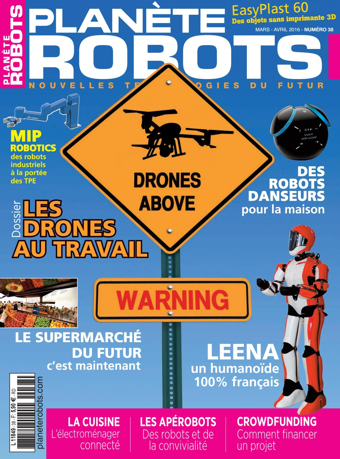 Planète Robot N 38 By Planète Robots Issuu