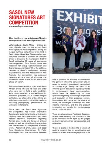 Page 58 of Art Competition: SASOL New Signatures Art Competition