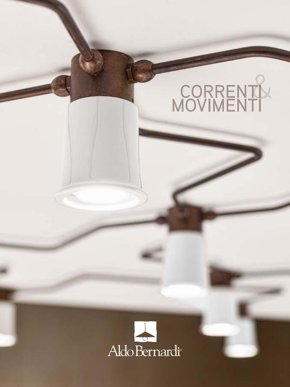 Correnti a Movimenti sestavy svítidel Aldo Bernardi NeNo