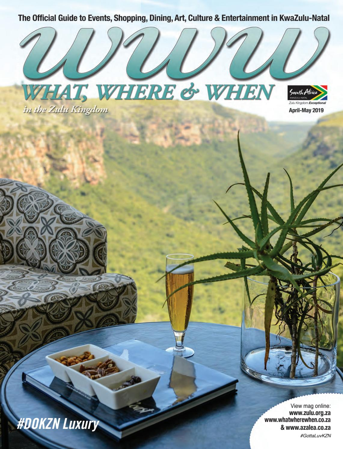 WWW - What, Where & When April-May 2019 by Lyn G - issuu