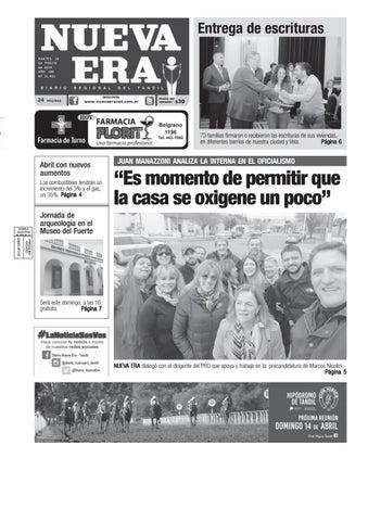 27da3d4e1 Diario NUEVA ERA - Tandil - Argentina by Diario NUEVA ERA Tandil - issuu