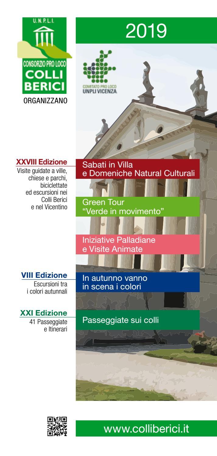 Calendario Marce Fiasp Vicenza 2019.Libretto Sabati In Villa 2019 By Pro Loco Arcugnano Issuu