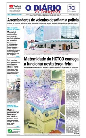 3c34ee541b43 Jornal O Diário de Teresópolis 26/03/2019 by O Diário de Teresópolis ...