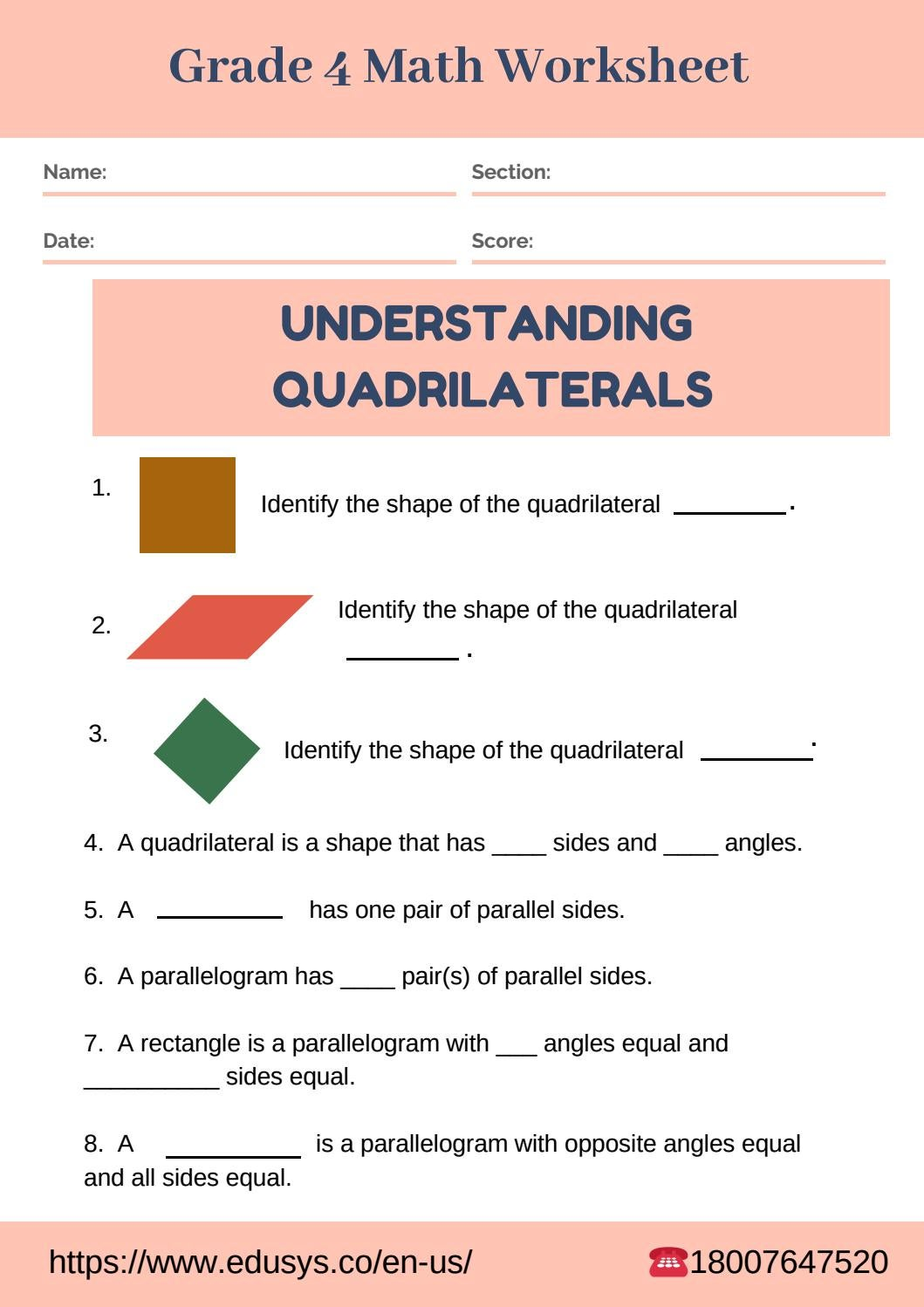 - Math Worksheet For Grade 4 Students By Nithya - Issuu