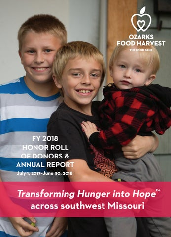 FY18 Annual Report by Ozarks Food Harvest - issuu