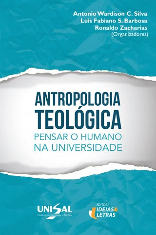 eb772f5bc Antropologia Teológica: Pensar o Humano na Universidade by UNISAL ...