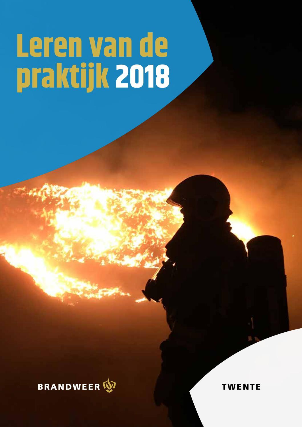 Rookgeur Uit Leren Bank.Brandweer Twente Leren Van De Praktijk 2018 By Brandweertwente Issuu