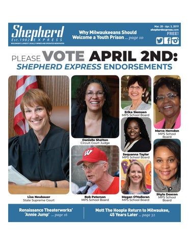 Print Edition: March 28, 2019 by Shepherd Express - issuu