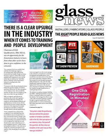 Glass News April 2019 by Christina Shaw - issuu