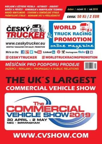 f64cb41ed ČESKÝ TRUCKER 4 2019 by ČESKÝ TRUCKER - monthly magazine for sales ...