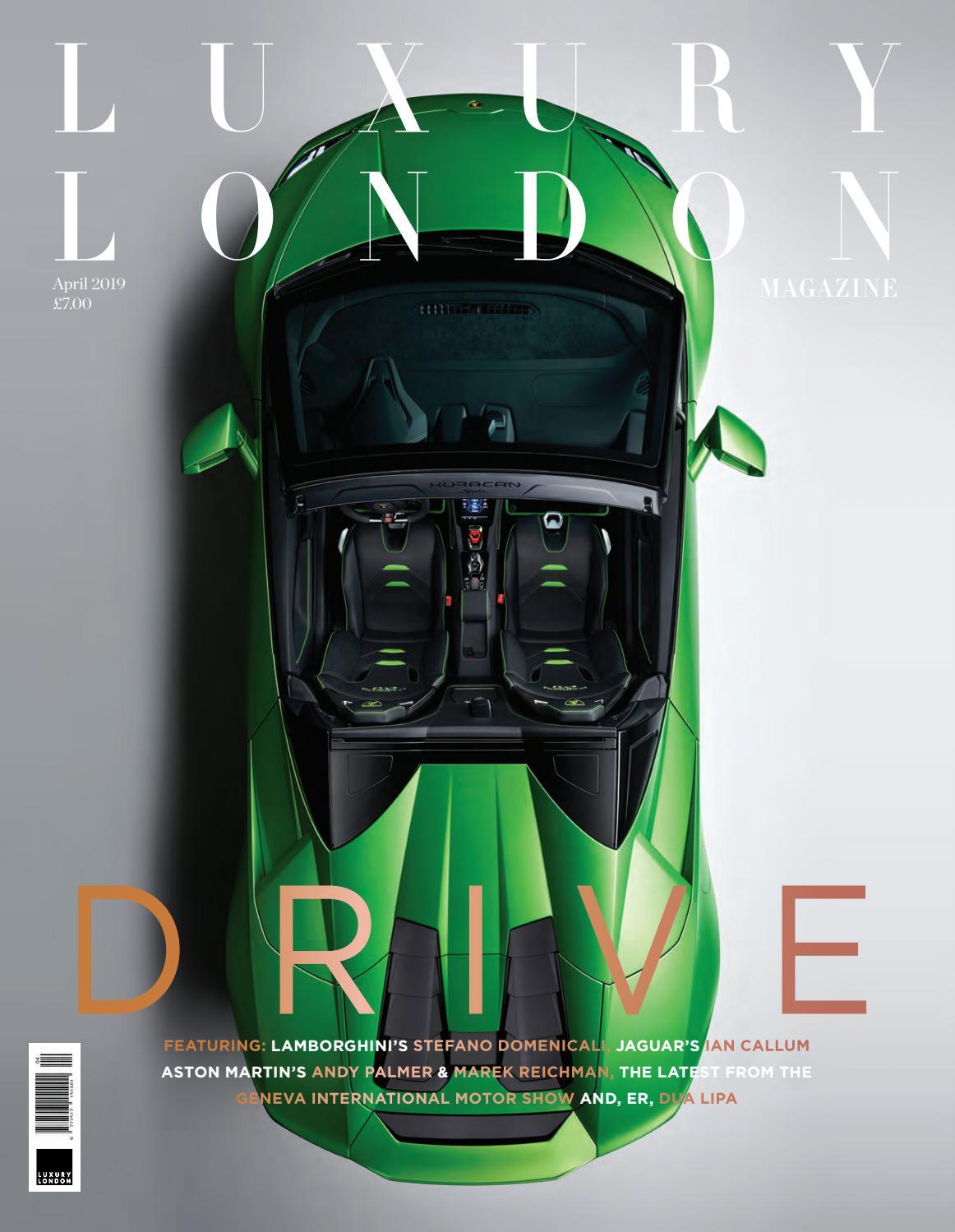 1bfa06834612 Luxury London Magazine April 2019 by Luxury London Media - issuu