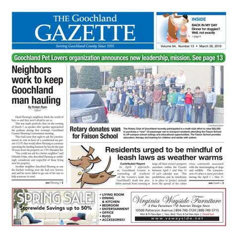 b3b3eee07b37 3/28/2019 by Goochland Gazette - issuu
