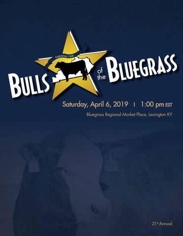 Bulls of the Bluegrass 21st Annual sale 2019 by Barbour