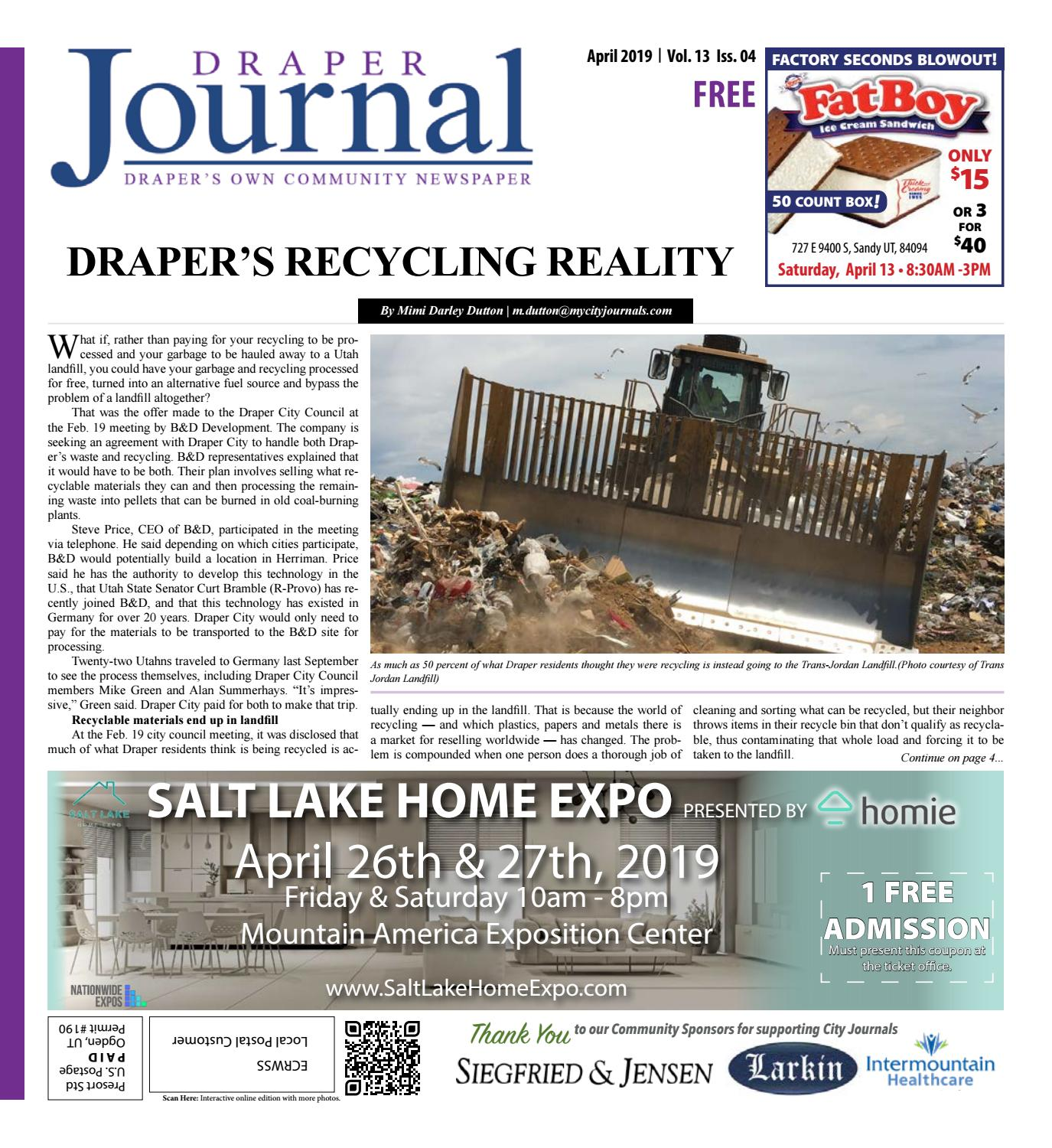 1adc680b8103 Draper Journal April 2019 by My City Journals - issuu
