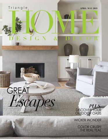 Triangle April May 2019 by Home Design & Decor Magazine - issuu