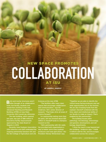 Page 11 of New space promotes collaboration at ISU