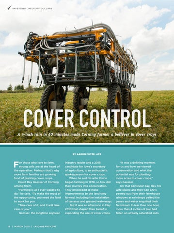 Page 16 of Cover Control: A 4-inch rain in 60 minutes made Corning farmer a believer in cover crops