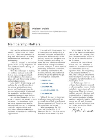 Page 6 of Membership Matters