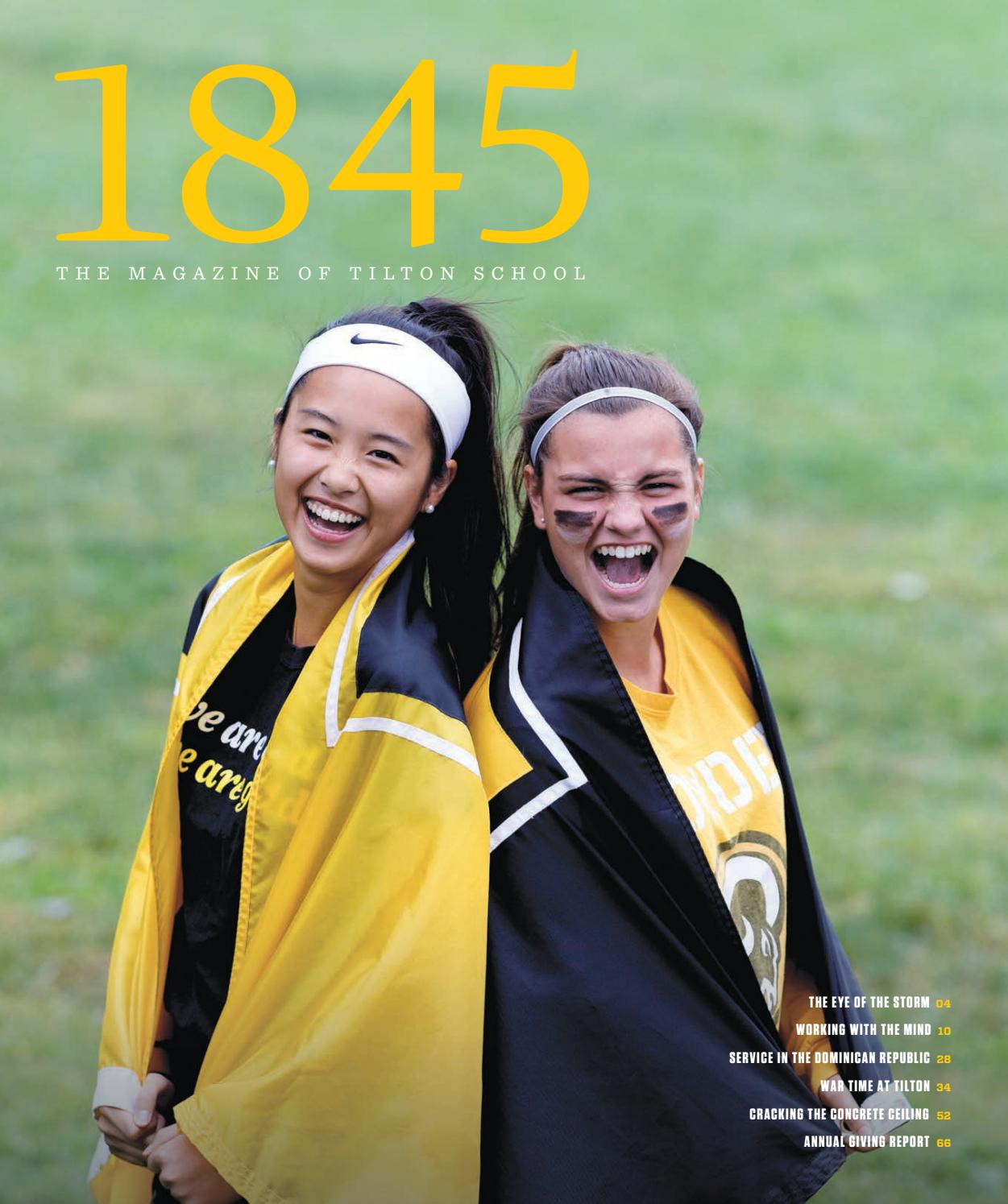 1845 | The Magazine of Tilton School by Tilton School - issuu