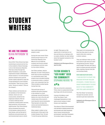 Page 28 of Student Writers