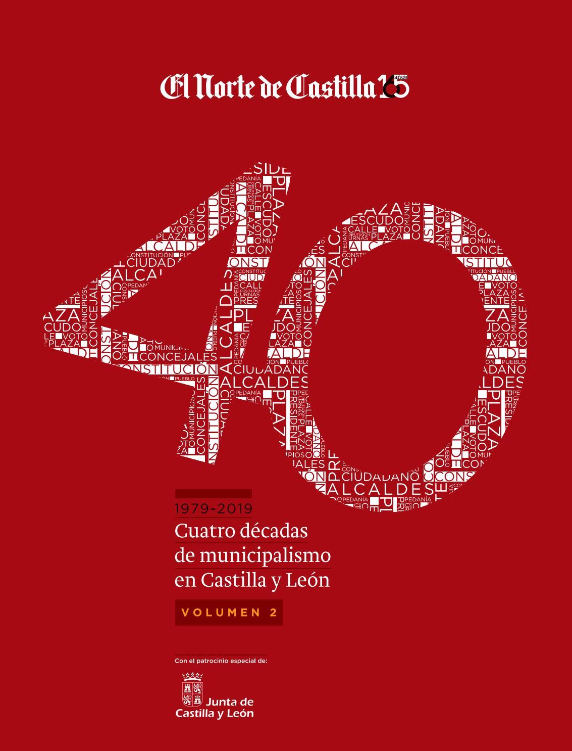 40 Años De Municipalismo Palencia Pueblos By El Norte De
