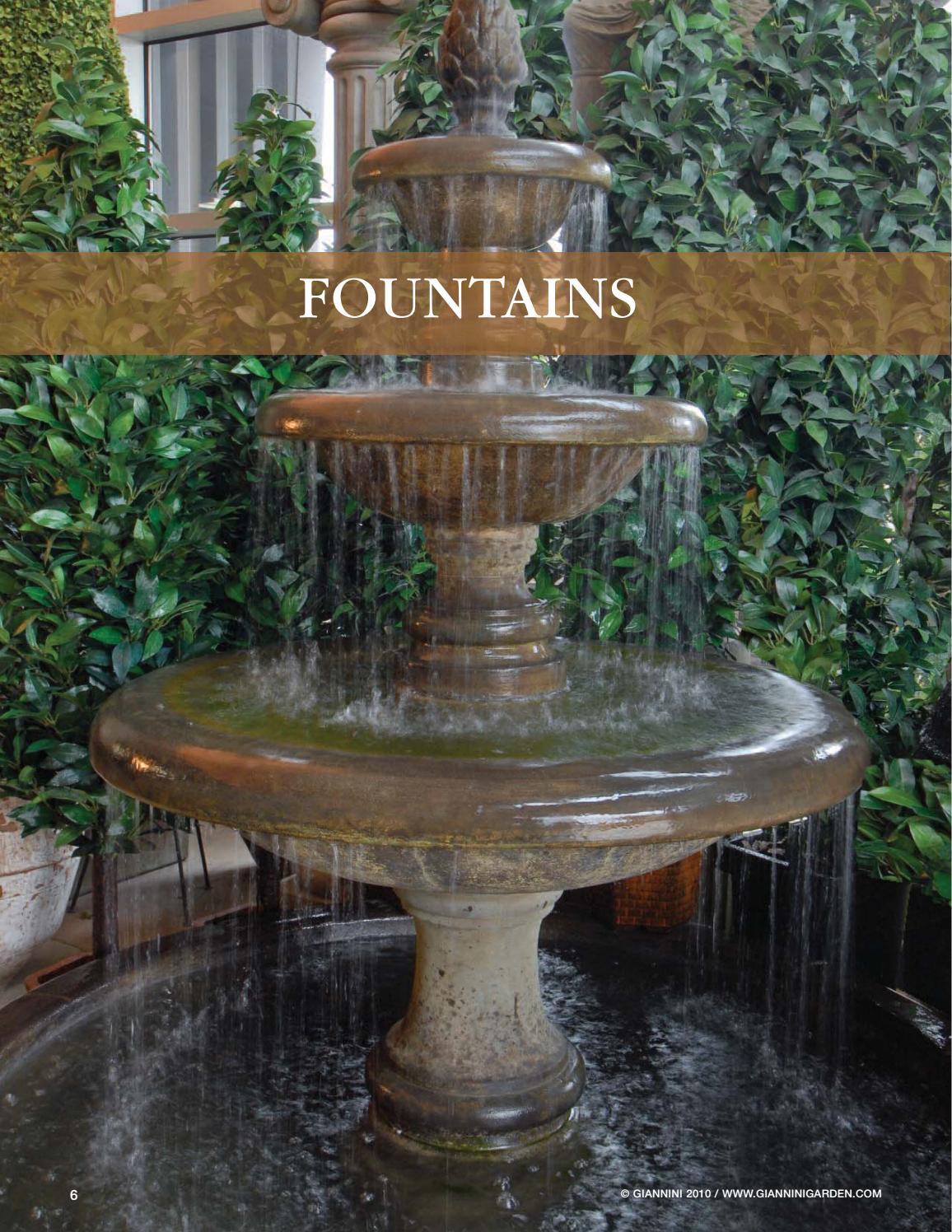 Giannini Garden Fountains By Giannini Garden Ornaments Issuu