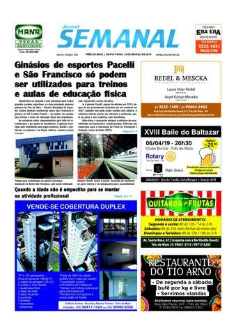 819b4e868 Semanal 15 de março de 2019 - Ed. 1549 by JORNAL Semanal - issuu