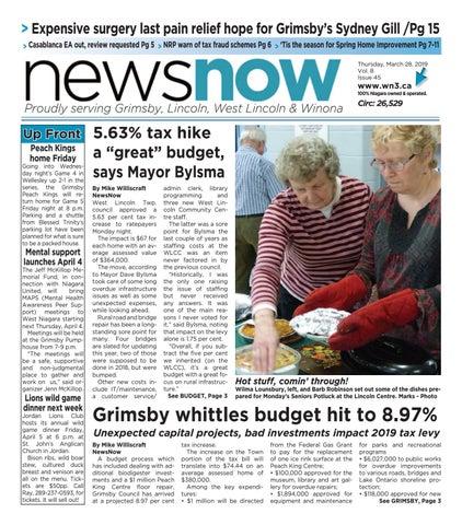 NewsNow E-Edition March 28 2019 by newsnow Niagara - issuu