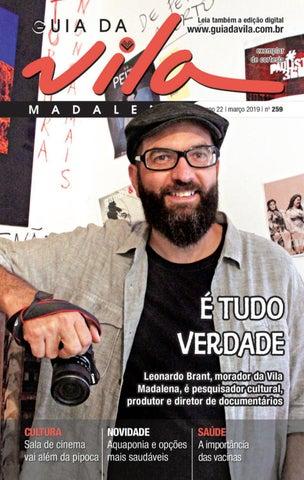 ecdd4c399 Guia da Vila - Edição 259 - Março de 2019 by Página Editora e ...
