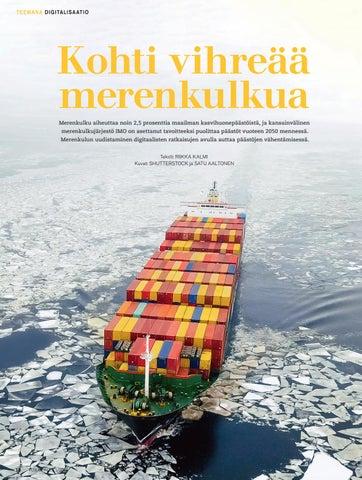 Page 18 of Kohti vihreää merenkulkua