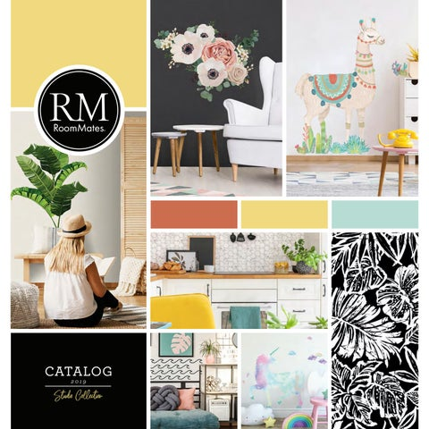 5c903a635 2019 RoomMates Studio Collection. Decorating with RoomMates Wall Decals ...