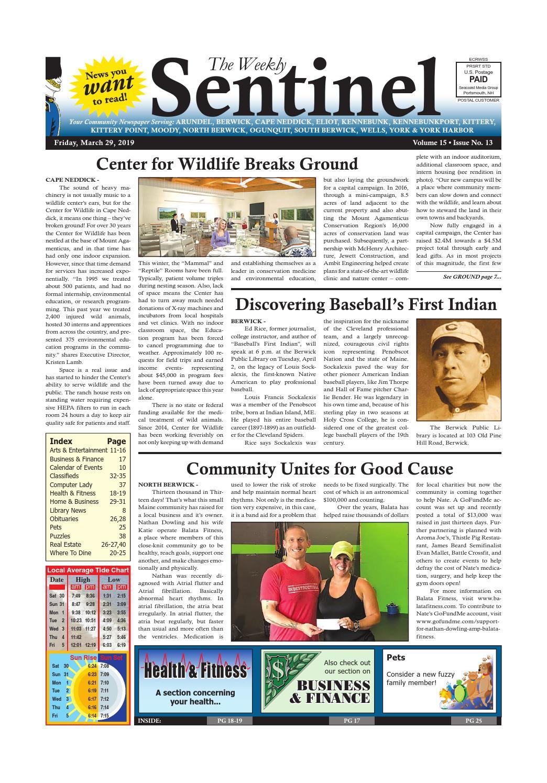 WS Mar  29, 2019 by Weekly Sentinel - issuu