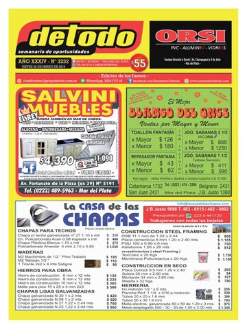 Edición Semanario By Detodo 28032019 3232 N° 8X0OkNPnw