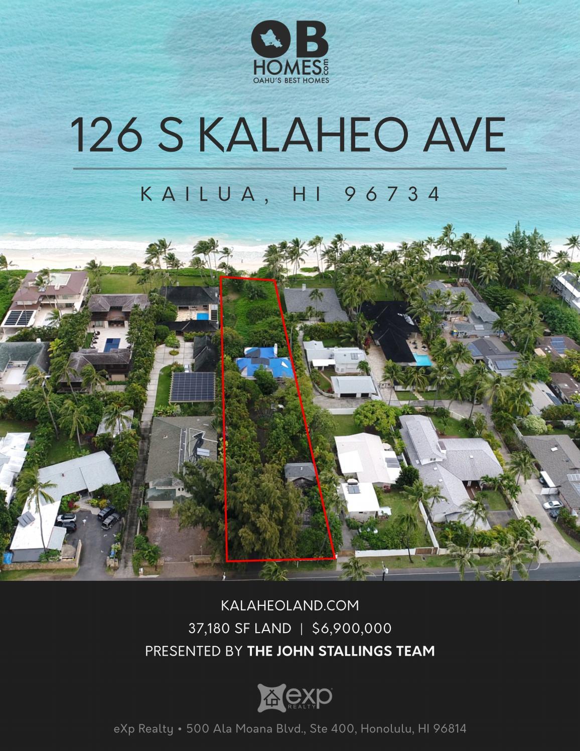 126 S Kalaheo Ave Sales Package By John Stallings Obhomes