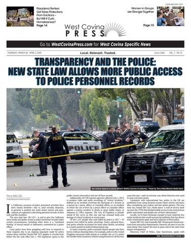 West Covina Press - 03/28/2019