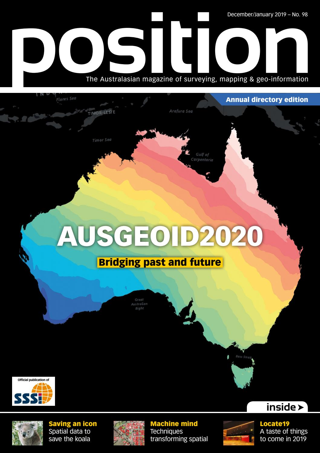 Position issue 98 Dec 2018-Jan 2019 by The Intermedia Group