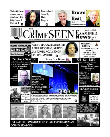 The CrimeSEEN Examiner News March 28, 2019 by CrimeSEEN Examiner - issuu