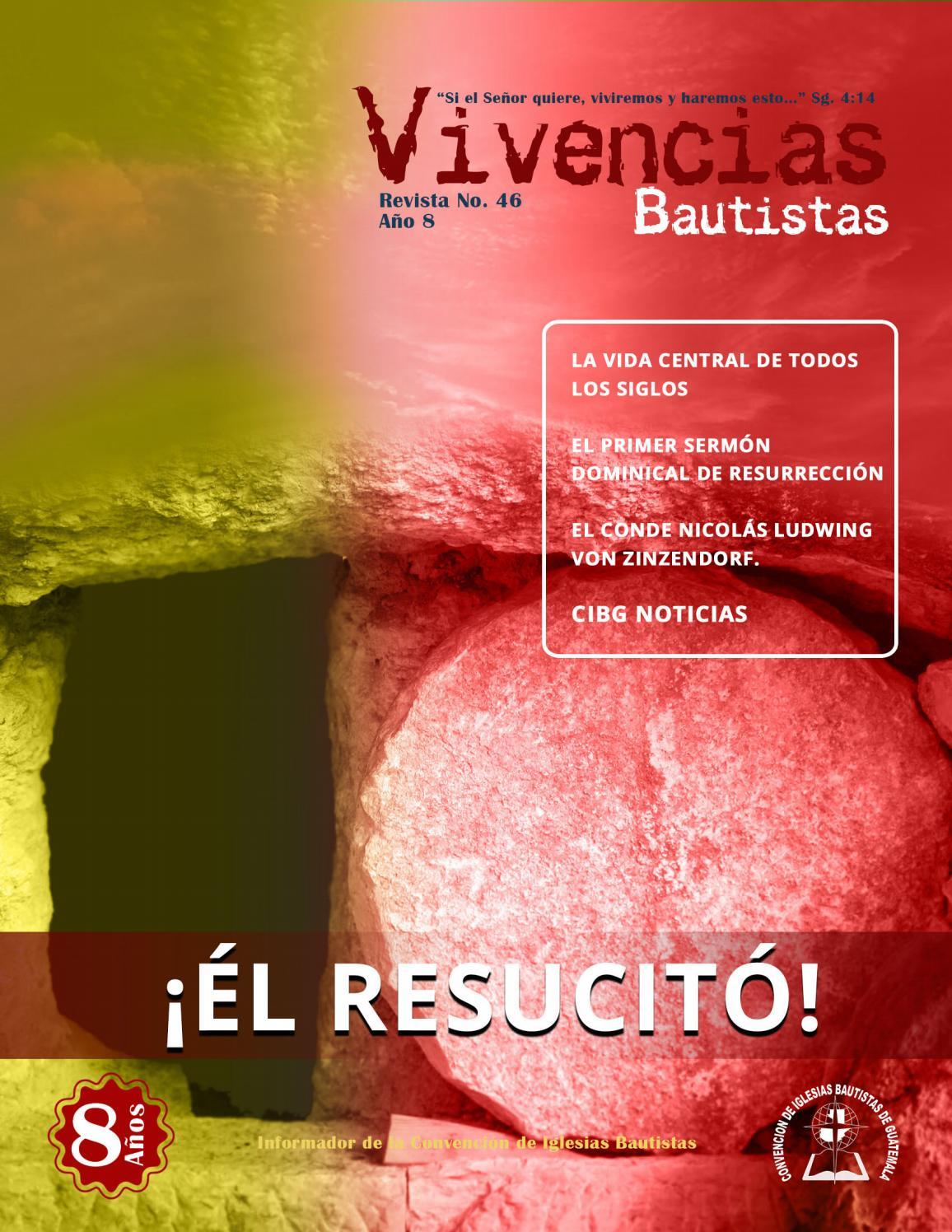 Revista Electrónica Vivencias Bautistas No  046 | Año 8