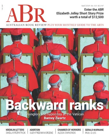 Australian Book Review, April , issue no. by Australian Book Review - Issuu