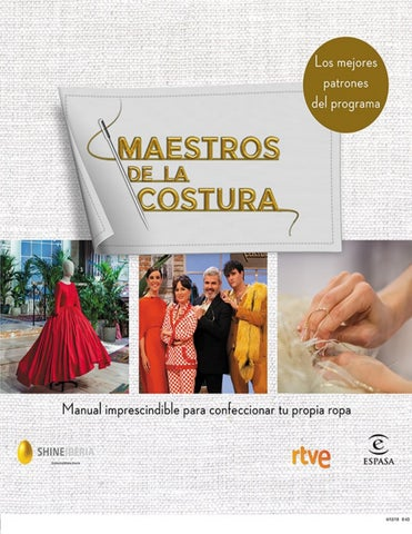 0ed1be738 Maestros de la Costura 2, Manual imprescindible para confeccionar tu ...